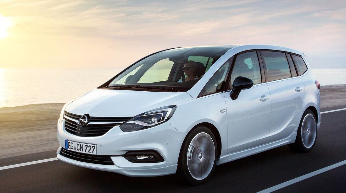 Opel Zafira Sperrfrist 31.5.2016 17.30 Uhr