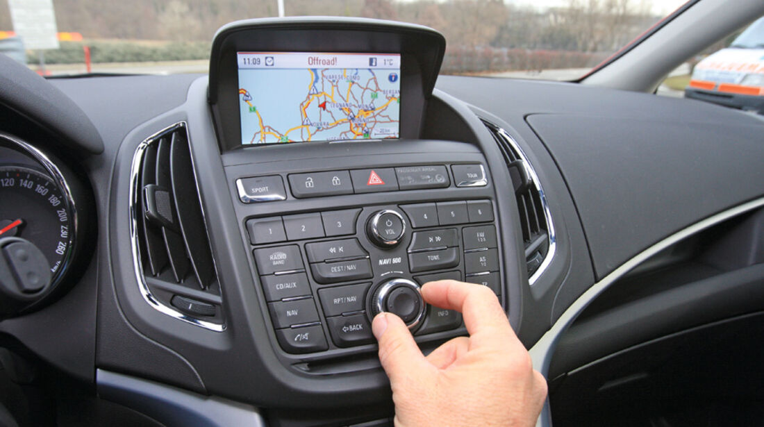 Opel Zafira Tourer 1.4 Turbo, Infotainment-System
