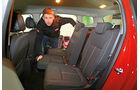 Opel Zafira Tourer 1.4 Turbo, Rücksitze
