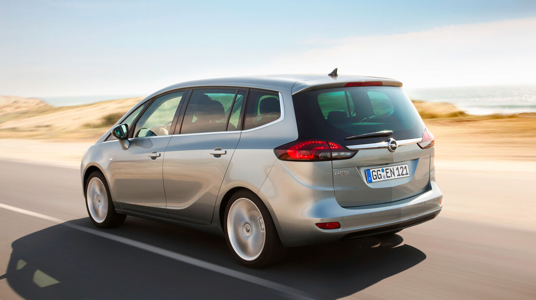 Opel Zafira Tourer, Heckansicht