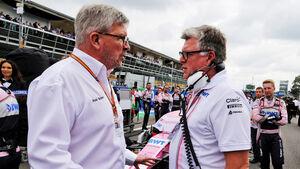 Otmar Szafnauer & Ross Brawn - Formel 1 2018