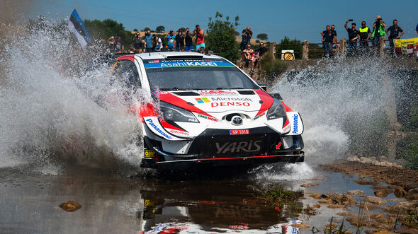 Ott Tänak - Rallye Sardinien 2019