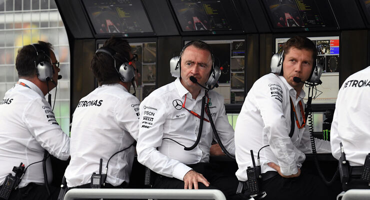 Paddy Lowe - GP Aserbaidschan 2016