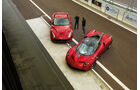 Pagani Huayra, Ferrari F12 Berlinetta, Von oben