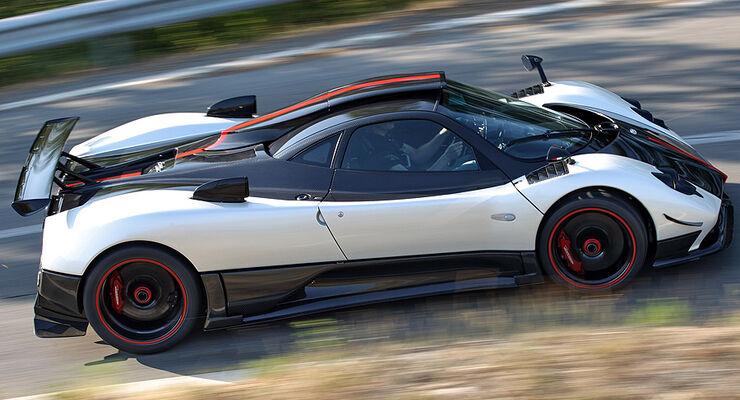 pagani zonda cinque: ein supersportler nimmt abschied - auto motor