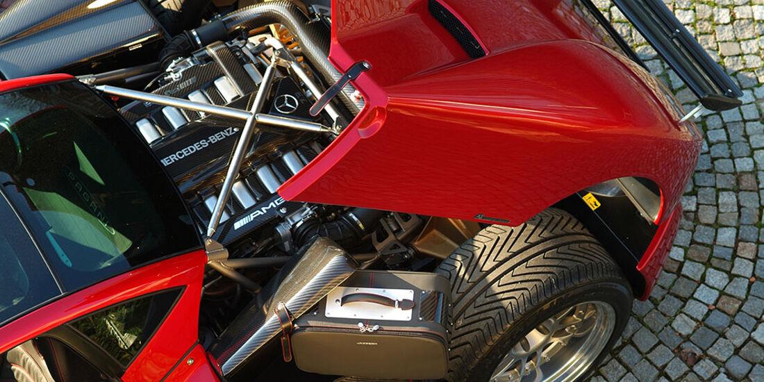 Pagani Zonda Roadster, Motor