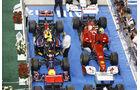 Parc Fermé GP Abu Dhabi 2011