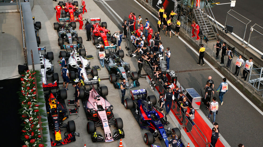 Parc Fermé -  GP China 2017 - Qualifying - 8.4.2017