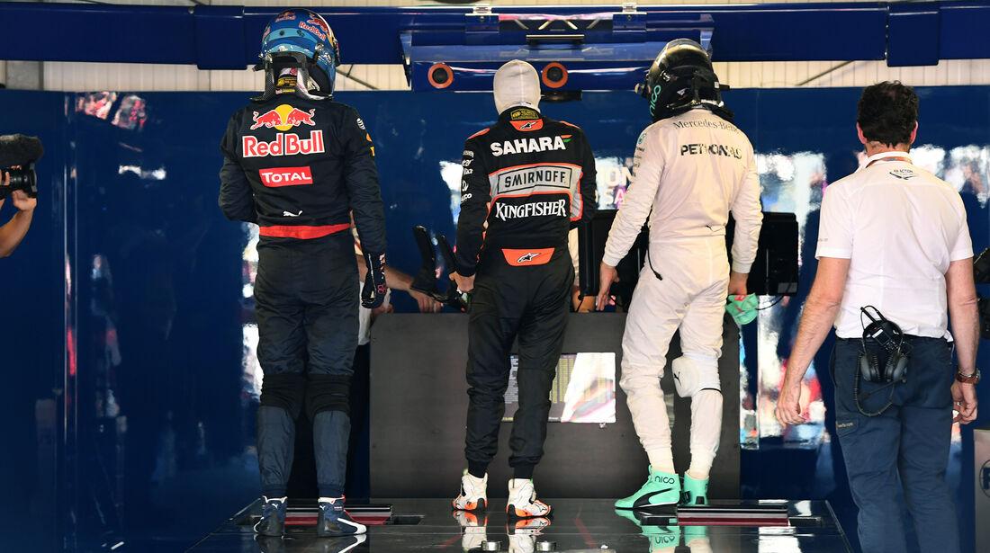 Parc Fermé - GP Monaco - Formel 1 - 28. Mai 2016