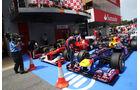 Parc Ferme - GP Spanien - 12. Mai 2012