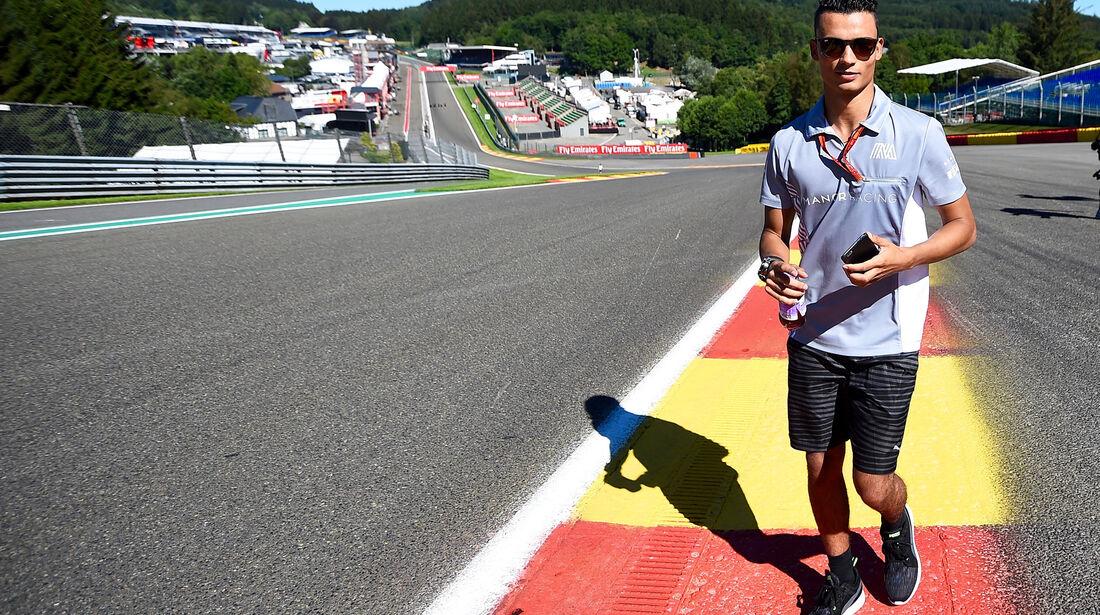 Pascal Wehrlein - Manor - Formel 1 - GP Belgien - Spa-Francorchamps - 25. August 2016