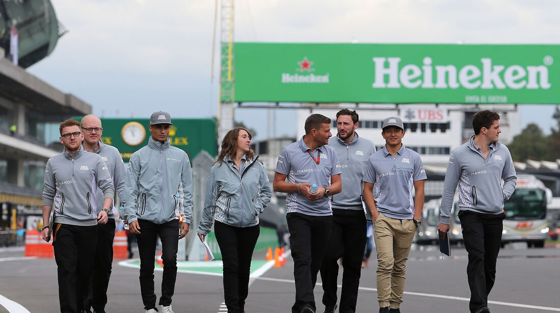 Pascal Wehrlein - Manor - Formel 1 - GP Mexiko - 27. Oktober 2016