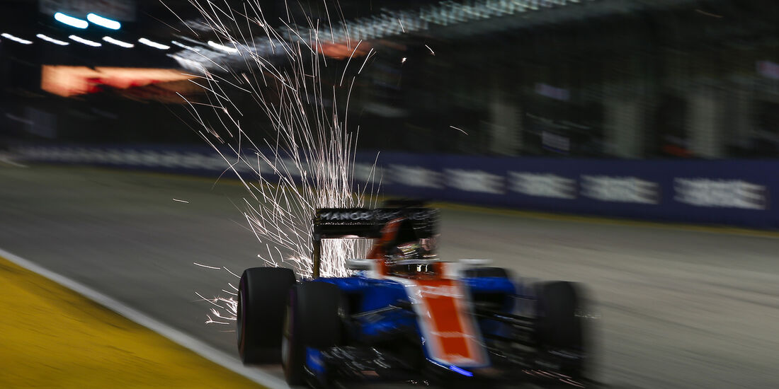 Pascal Wehrlein - Manor - Formel 1 - GP Singapur - 17. September 2016