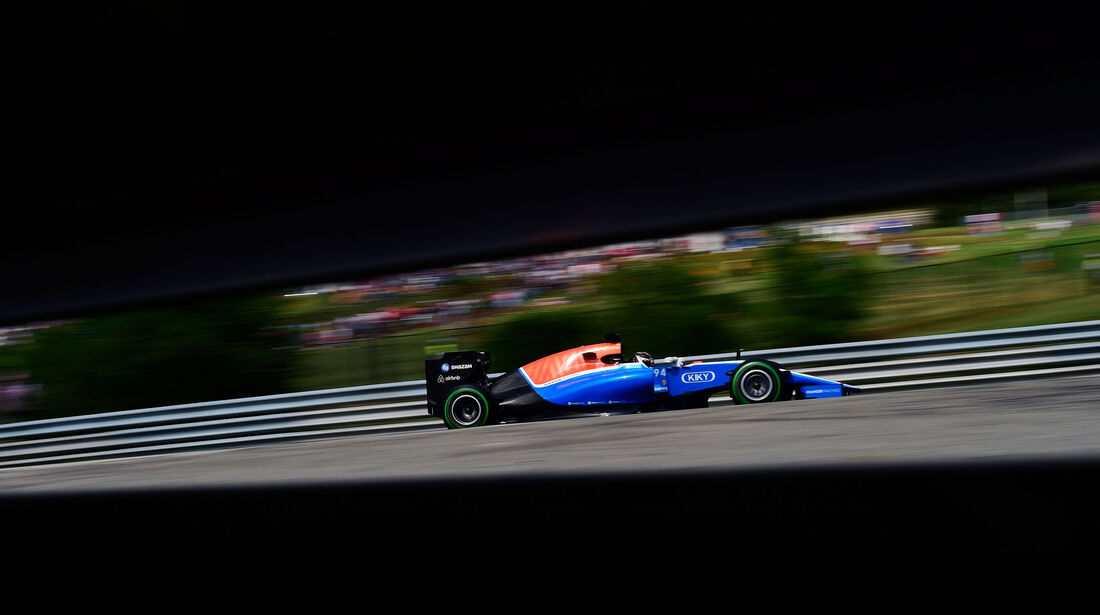 Pascal Wehrlein - Manor - Formel 1 - GP Ungarn - 23. Juli 2016