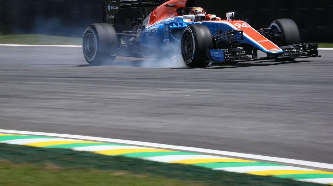 Pascal Wehrlein - Manor - GP Brasilien - Interlagos - Freitag - 11.11.2016