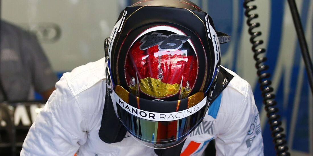 Pascal Wehrlein - Manor - GP Deutschland - Formel 1 - 29. Juli 2016