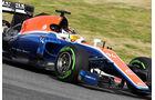 Pascal Wehrlein - Manor MRT05 - Barcelona - F1 Test - 2016