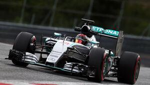 Pascal Wehrlein - Mercedes - Formel 1 - Test - Spielberg - 23. Juni 2015