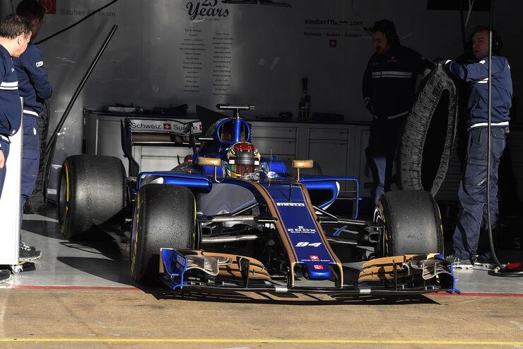 Pascal Wehrlein - Sauber - Formel 1 - Test - Barcelona - 7. März 2017