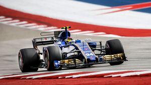 Pascal Wehrlein - Sauber - GP USA 2017 - Qualifying