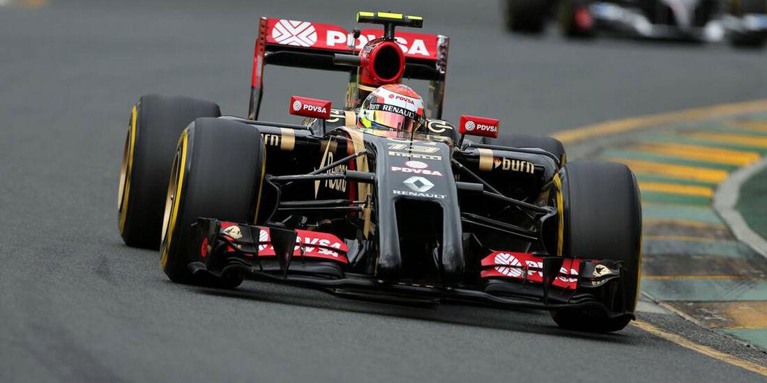 Pastor Maldonado  - Formel 1 - GP Australien - 15. März 2014