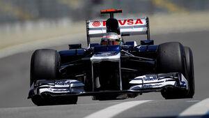 Pastor Maldonado Formel 1 GP Brasilien 2012