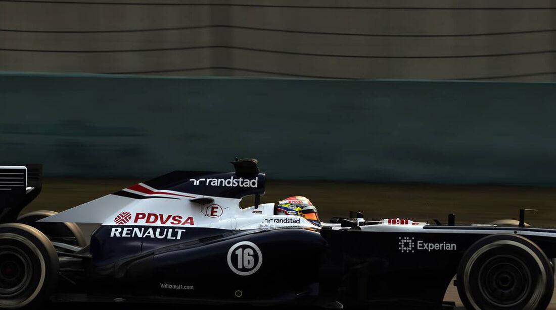 Pastor Maldonado - Formel 1 - GP China -12. April 2013