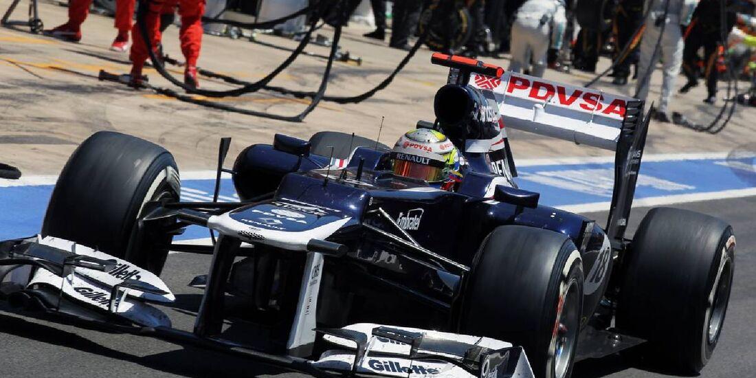 Pastor Maldonado  - Formel 1 - GP Europa - 24. Juni 2012