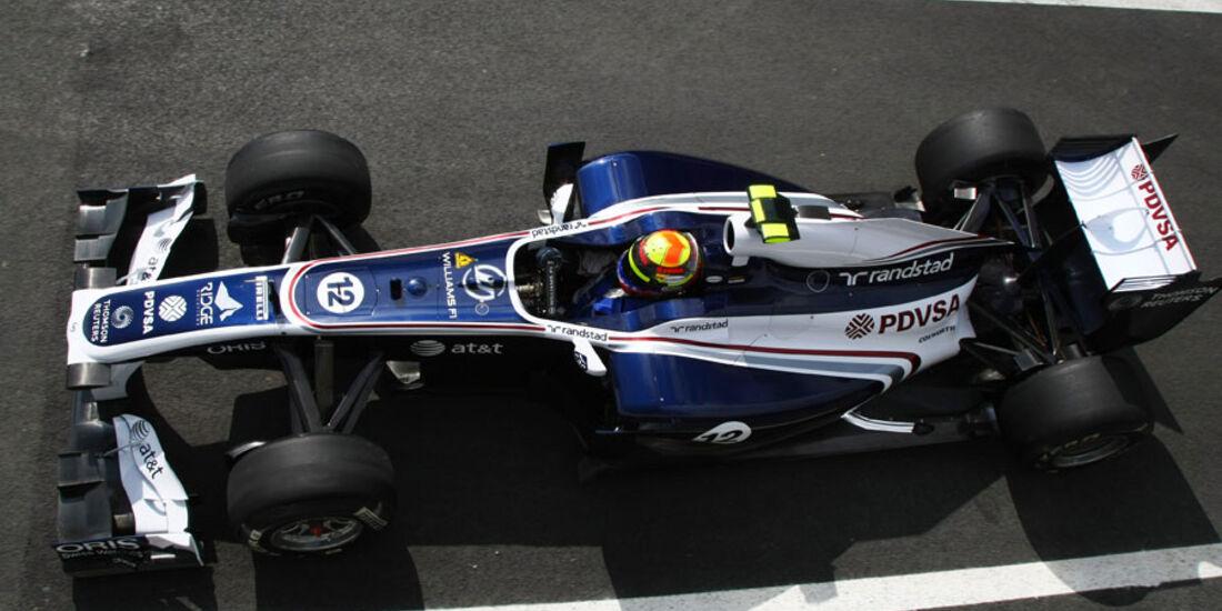 Pastor Maldonado - GP England - Qualifying - 9. Juli 2011