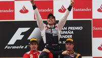 Pastor Maldonado - GP Spanien 2012