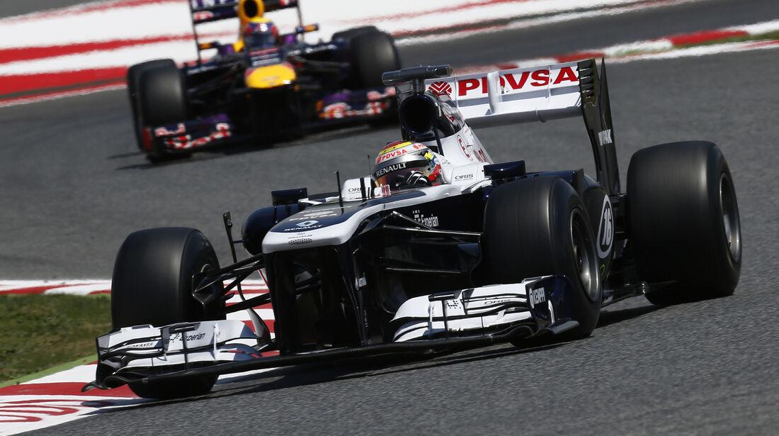 Pastor Maldonado GP Spanien 2013
