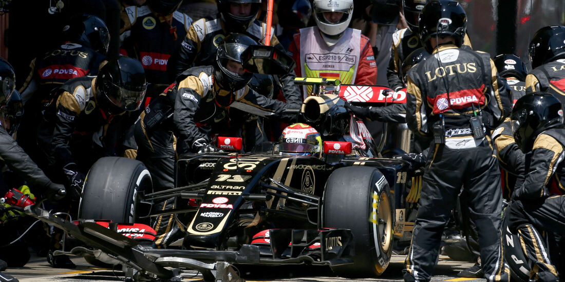 Pastor Maldonado - GP Spanien 2015