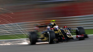 Pastor Maldonado - Lotus - Formel 1 - GP Bahrain - 18. April 2015