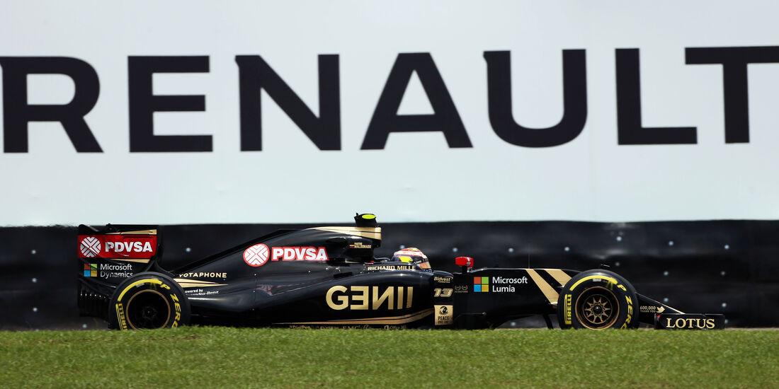 Pastor Maldonado - Lotus - Formel 1 - GP Brasilien- 14. November 2015