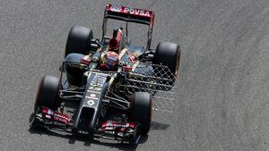 Pastor Maldonado - Lotus - Formel 1 - Test 1 - GP Bahrain 2014