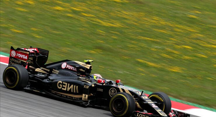 Pastor Maldonado - Lotus - GP Österreich - Formel 1 - Freitag - 19.6.2015