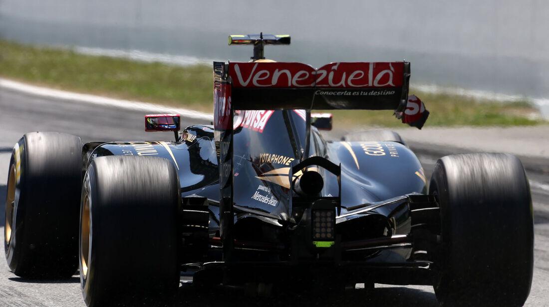Pastor Maldonado - Lotus - GP Spanien 2015 - Rennen - Sonntag - 10.5.2015