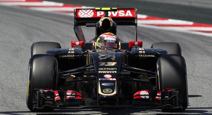 Pastor Maldonado - Lotus - GP Spanien 2015