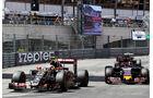 Pastor Maldonado - Max Verstappen  - Formel 1 - GP Monaco - Sonntag - 24. Mai 2015