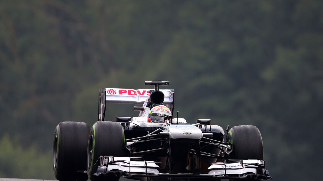 Pastor Maldonado - Williams - Formel 1 - GP Belgien - Spa Francorchamps - 23. August 2013