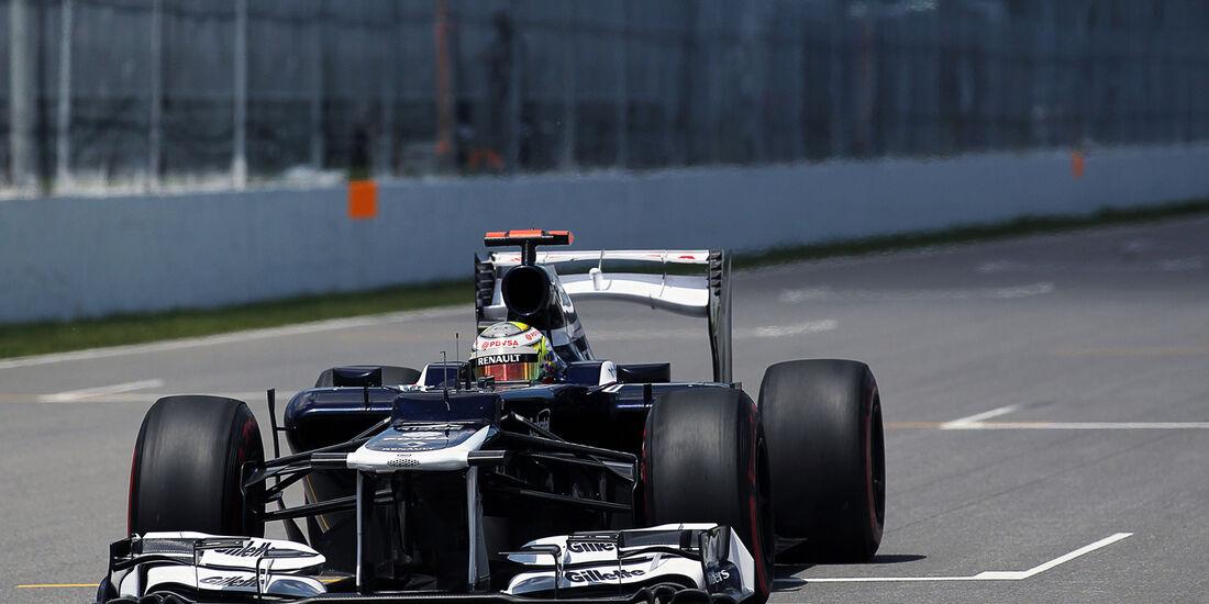 Pastor Maldonado - Williams - Formel 1 - GP Kanada - 10. Juni 2012