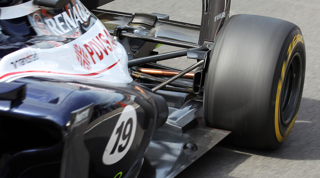 Pastor Maldonado - Williams - Formel 1 - GP Korea - 12. Oktober 2012