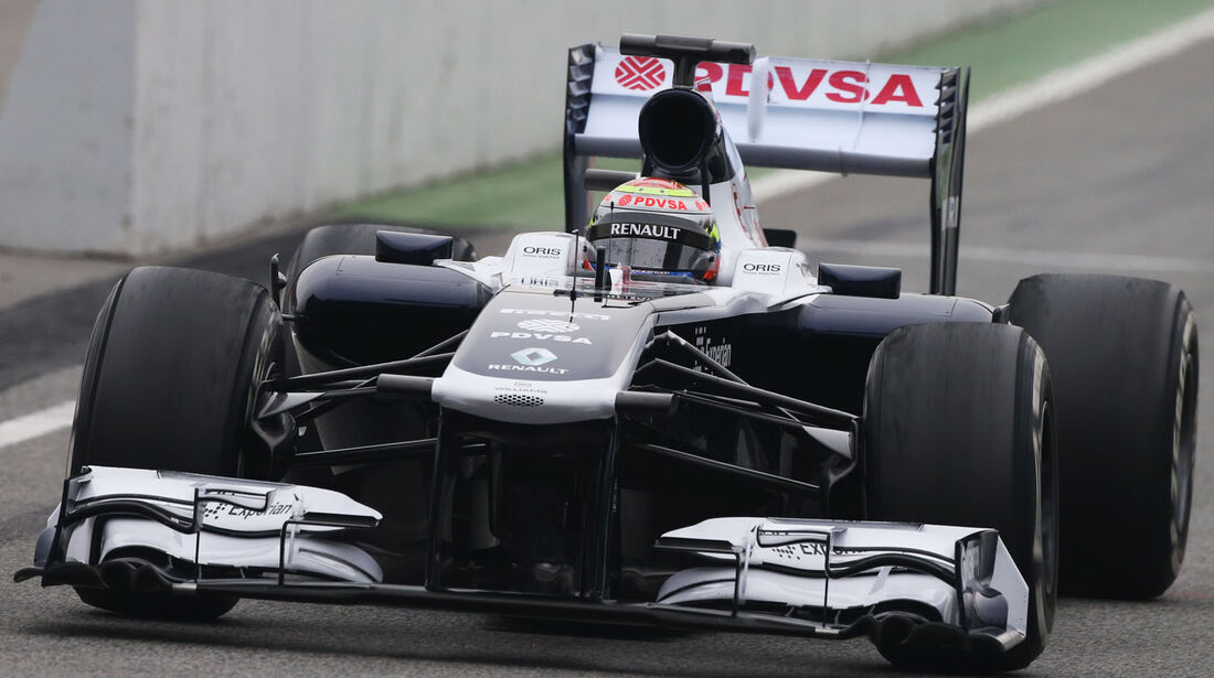 Pastor Maldonado, Williams, Formel 1-Test, Barcelona, 21. Februar 2013