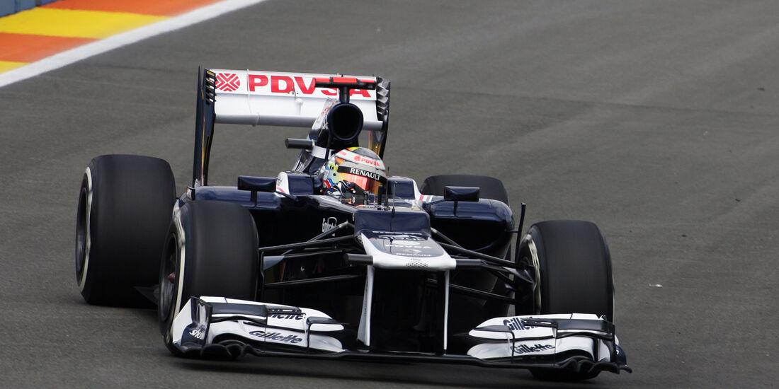 Pastor Maldonado - Williams - GP Europa - Formel 1 - Valencia - 22. Juni 2012