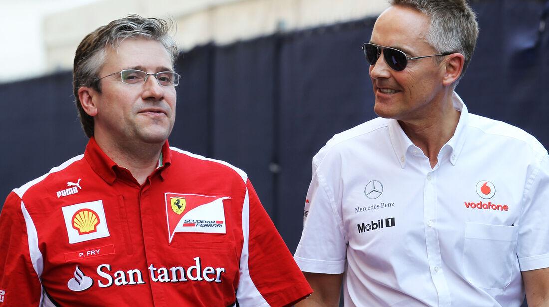 Pat Fry & Martin Whitmarsh - Formel 1 - GP Monaco - 26. Mai 2012