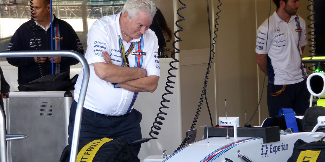 Pat Symonds - Williams - Formel 1 - GP England  - Silverstone - 4. Juli 2014