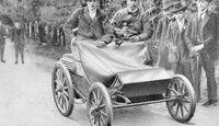 Patent Motorwagen System Lutzmann