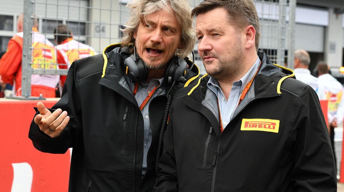 Paul Hembery - Formel 1 - GP Österreich - 3. Juli 2016