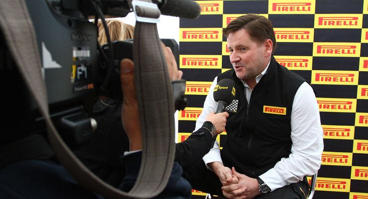 Paul Hembery Pirelli 2011