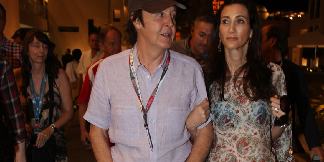 Paul McCartney - GP Abu Dhabi - Qualifying - 12.11.2011